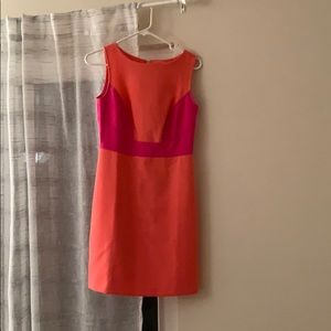 Small peach and pink summer dress